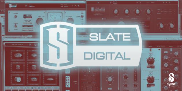 Slate Digital – Mix de Bateria — Cysne Produções